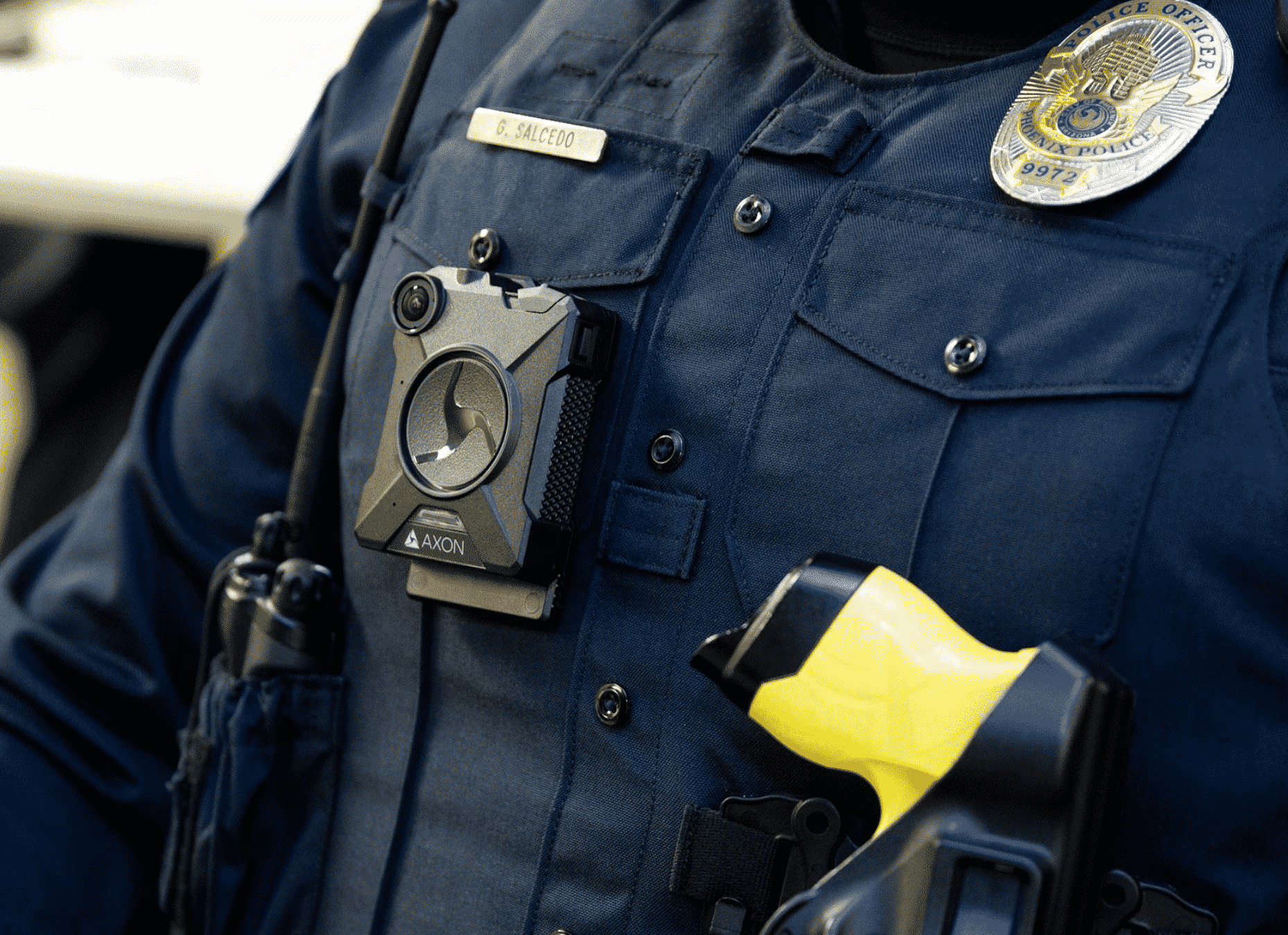 Phoenix Police with Body Cameras