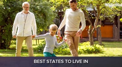 Best States to live in the United States