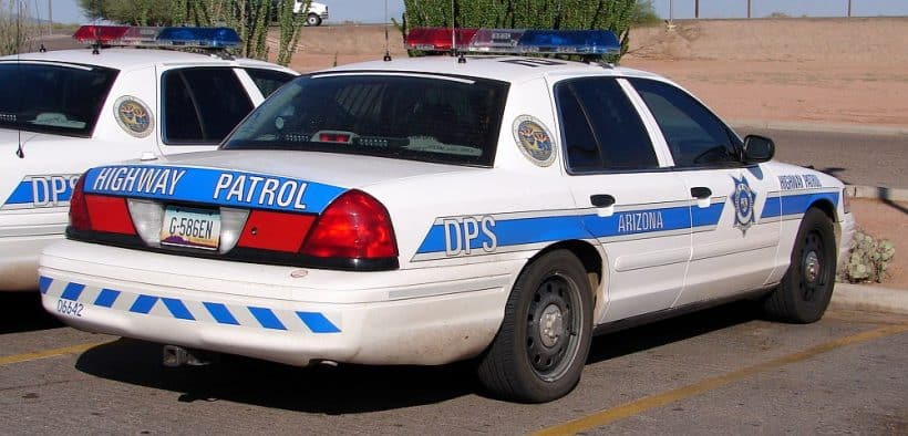Arizona Department Of Public Safety Maj. Jenna Mitchell