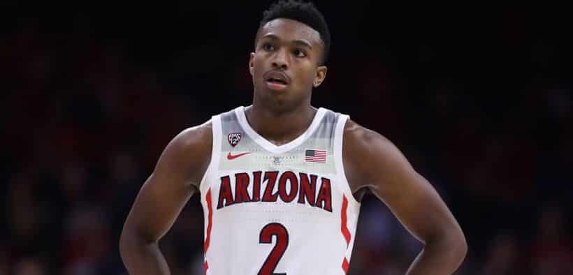 Arizona Wildcats Guard Brandon Williams