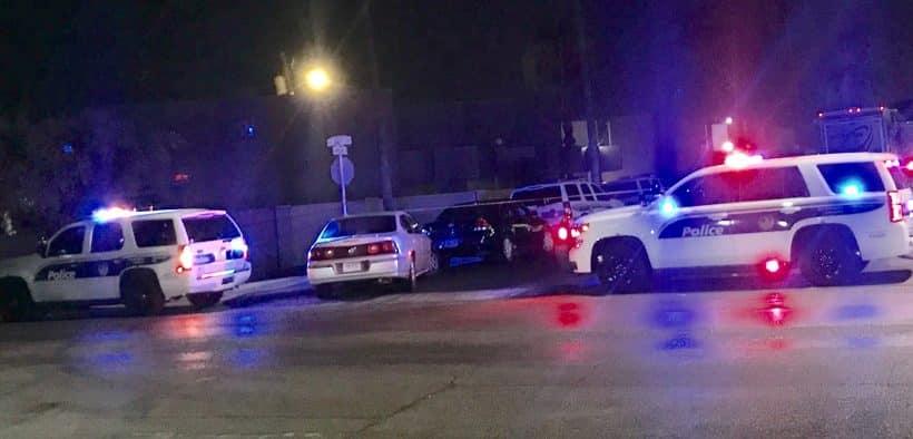 Phoenix Police Shoot Man Holding Rifle